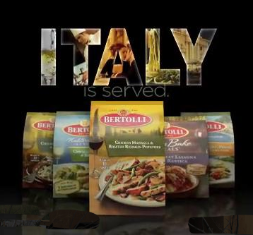 Bertolli: Italy Is Served